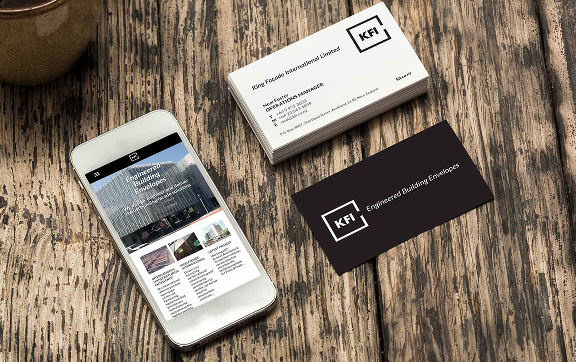 Shilton design swindon king faade international the project involved delivering new design assets for their business cards flyers letterheads signage and new website reheart Gallery